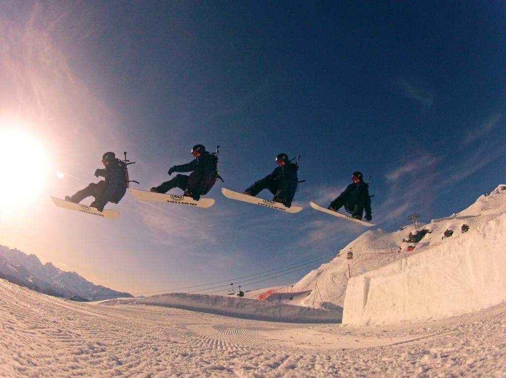 Tailgrab - Funpark of Verbier, Suisse. Winter 2012