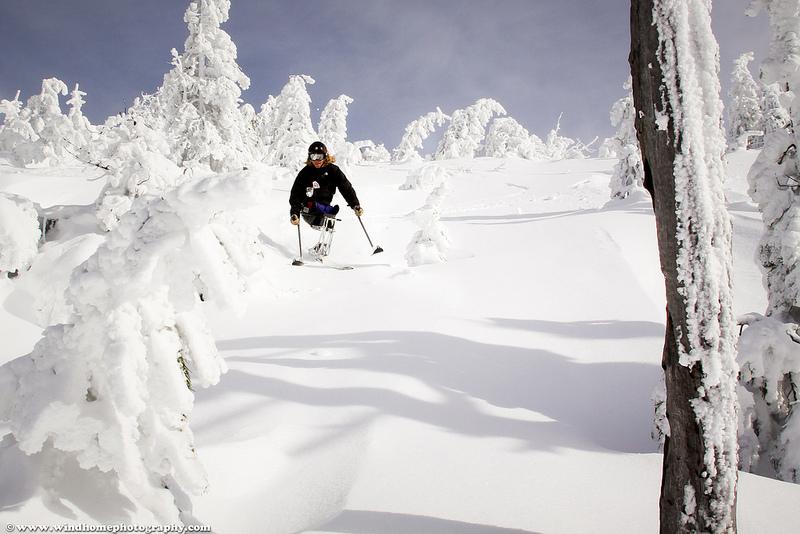 Ravi Drugan Mono Skier