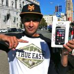 Chaz Ortiz and Zoo York ThinDots iPhone accessory