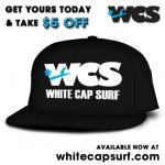White Cap Fitted Hats Now Available