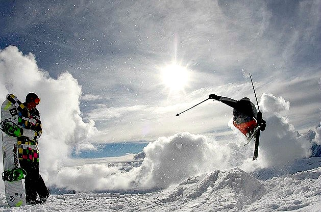 Rad Shot at Three Valleys France