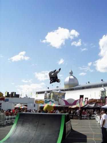 Backflip Stale Grab at the Ottawa Ex