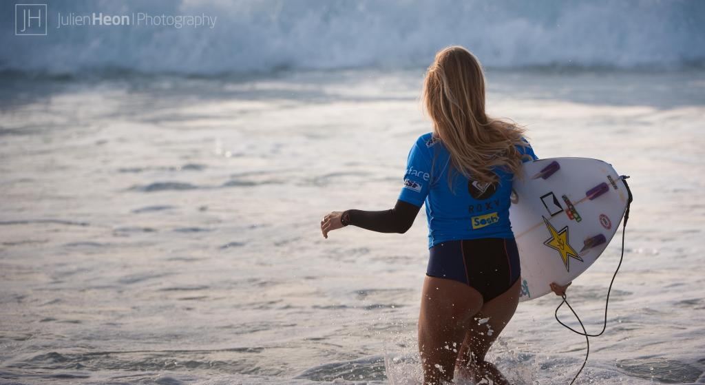 Alana Blanchard at Roxy Pro France