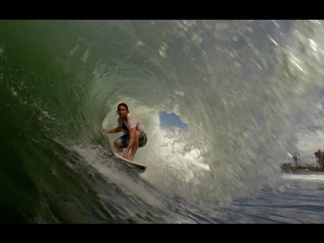 Jordy Smith surfing in Bali - Bending Colours - We