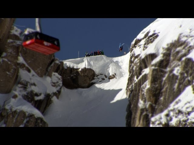 TGR at Corbet's Couloir