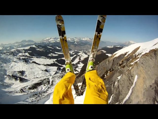 GoPro HD: Avalanche Cliff Jump with Matthias Girau