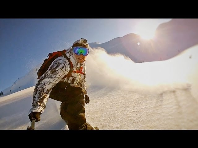 Powder Mountain Heliboarding