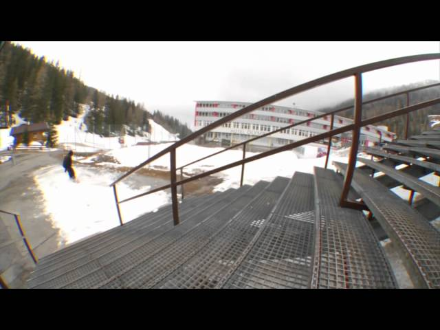 Team Shoot Out 2012 Nike Snowboarding Video - Tran