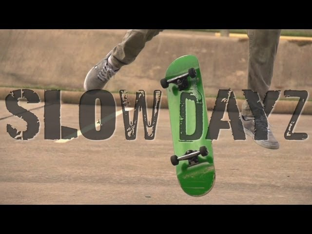 slow motion skating