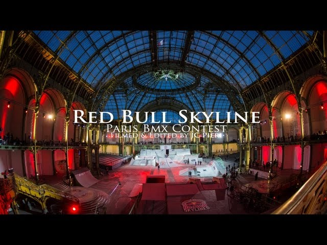 REDBULL - Skyline Paris Bmx Contest