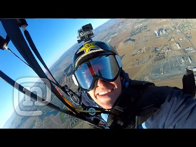 Roner Vision: Umbrella Skydive Stunt & So Cal Vaca