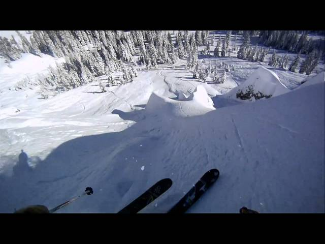 Skiing Lines with Ryan Price