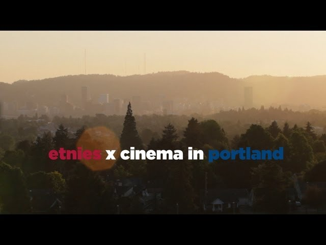 ETNIES x CINEMA BMX in Portland