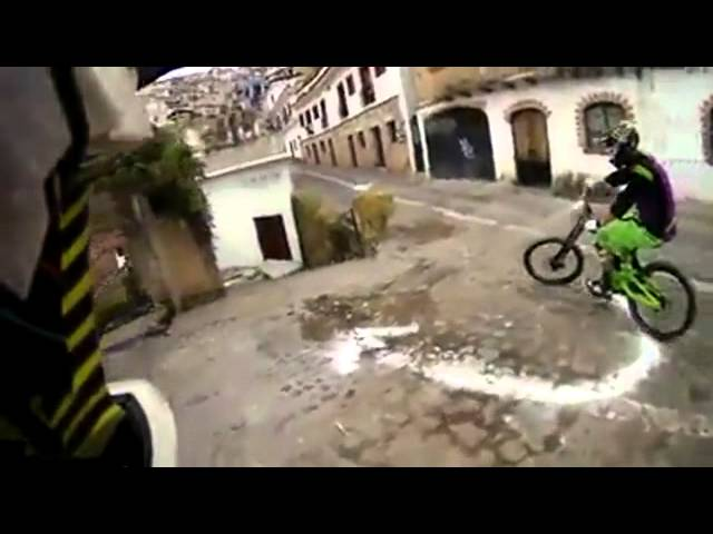 Taxco Urban Downhill POV