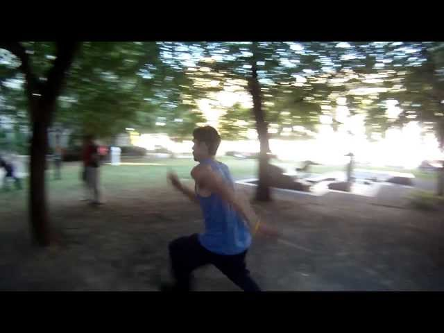 2012 Montreal Parkour Summer Meet - Slow Down, Ma!