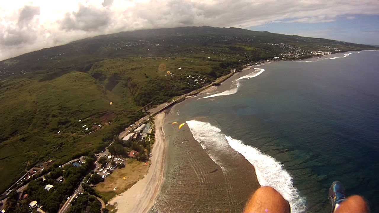 Reunion island, intense island
