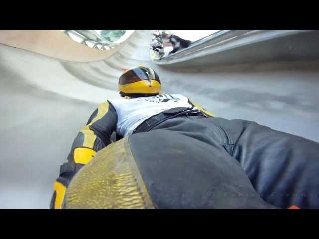 Inline Skateboarding Bobtrack the Plagne 2012