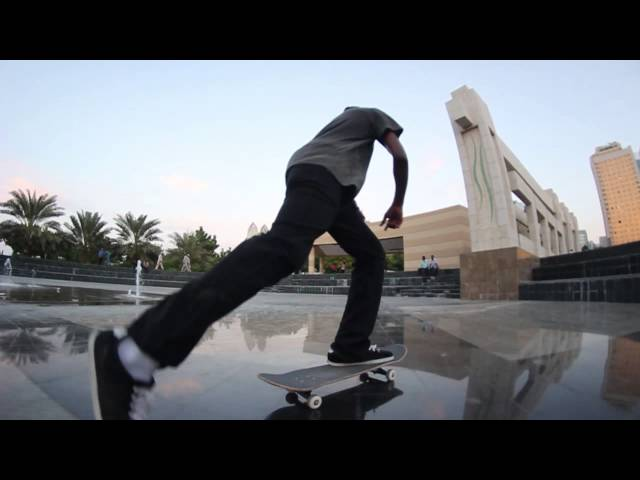 Adam And Faisal skate Abu Dhabi