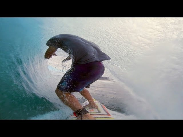 GoPro Hero3 and Anthony Walsh at Pipe