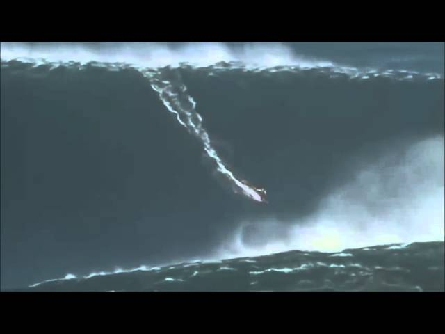 Garrett McNamara 100 foot wave POV