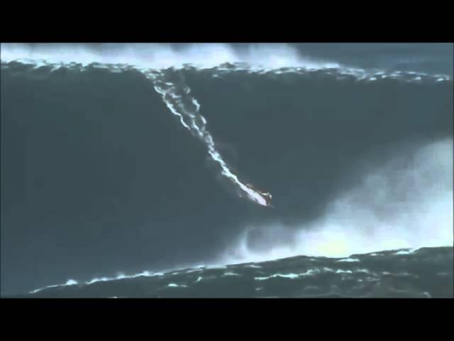 Garrett McNamara 100 foot wave POV