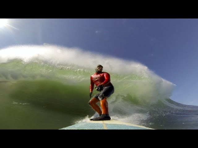 Peter Mel at Mavericks 2013