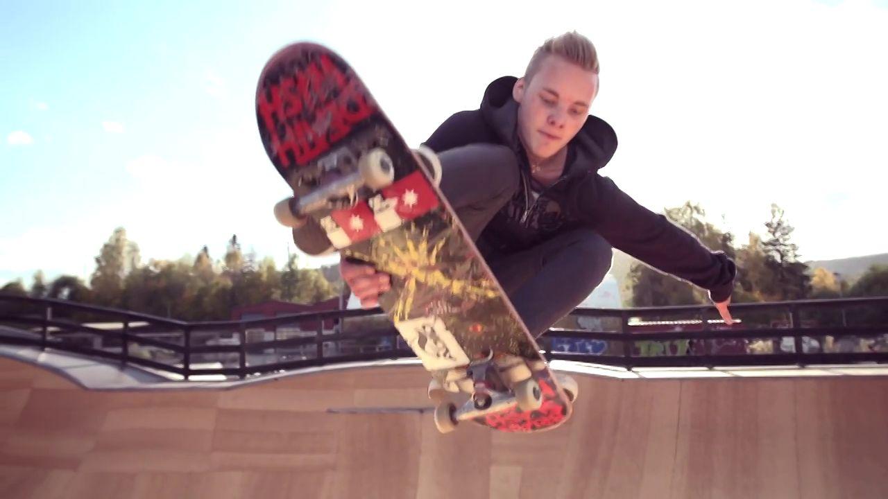 Skate Fall in Norway