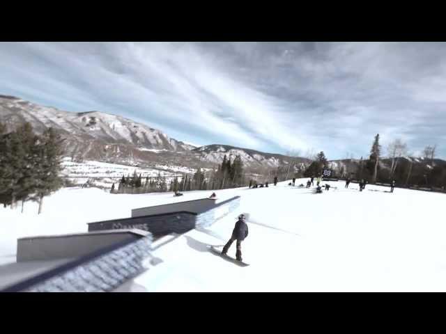 Mark McMorris XGames 2013 Slopestyle Follow Cam