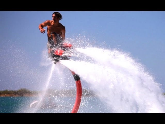 Devin Graham Flyboard Video