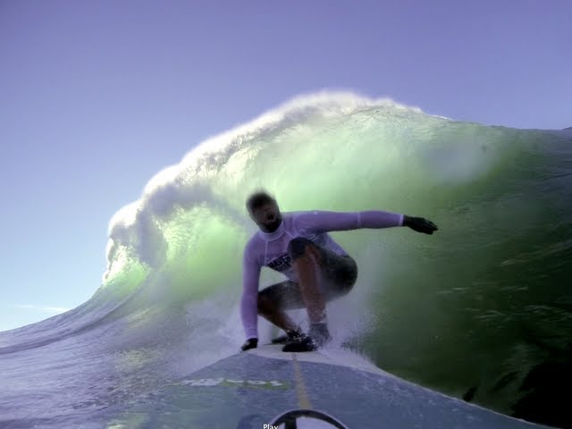 Peter Mel at Mavericks Invitational