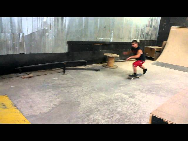 boneless 180 fingerflip over gap