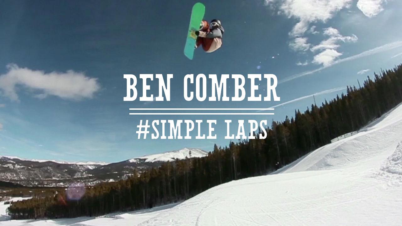 Ben Comber #SIMPLE LAPS