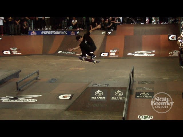Luan Oliveira Winning Run at Tampa Pro 2013
