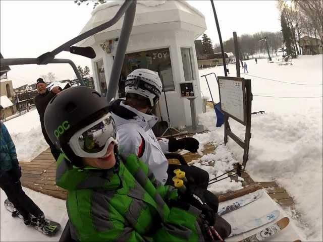 Ski freestyle gopro 1080p