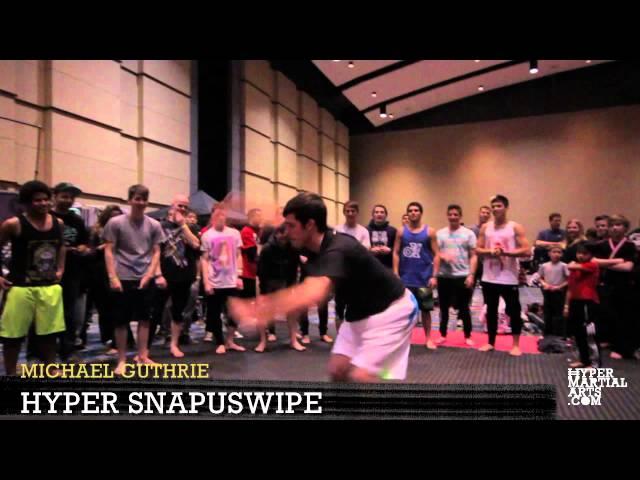 """Snapuswipe"" Variations - Martial Arts Trick"