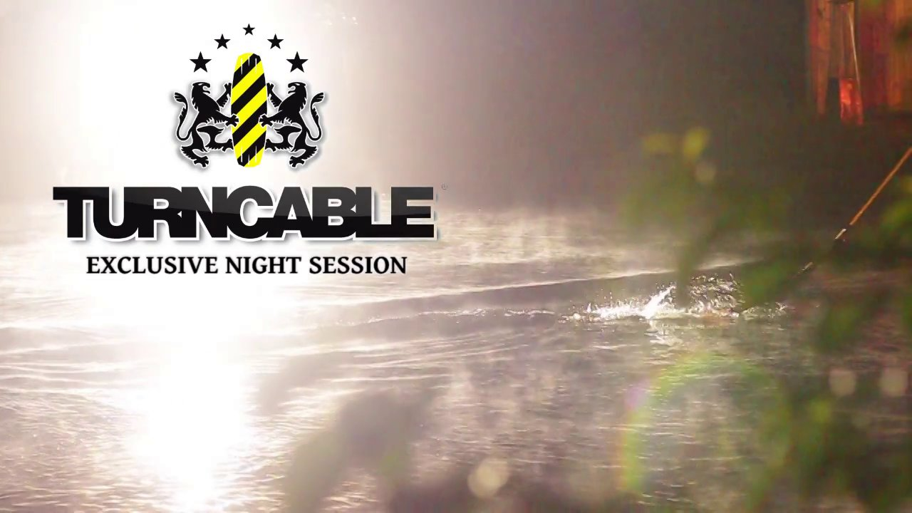 Night wakeskating