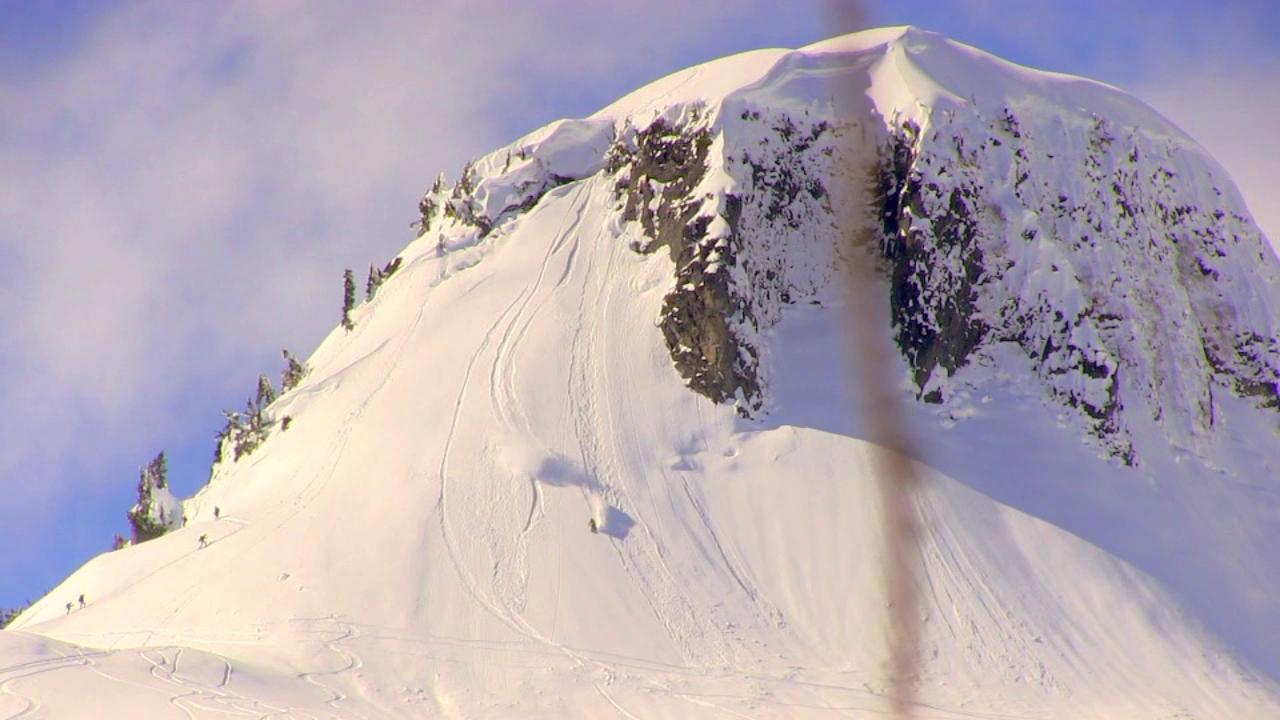 Shredding a Sunny Day at Mt. Baker Ski Area