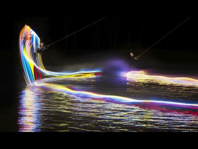 Motion to Light Wakeboarding
