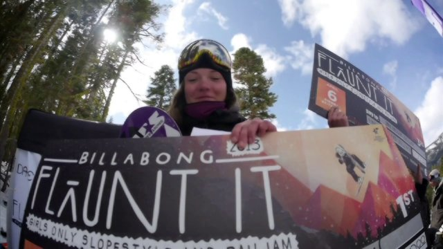 Billabong Flaunt It Finals 2013: All Girls Slopest
