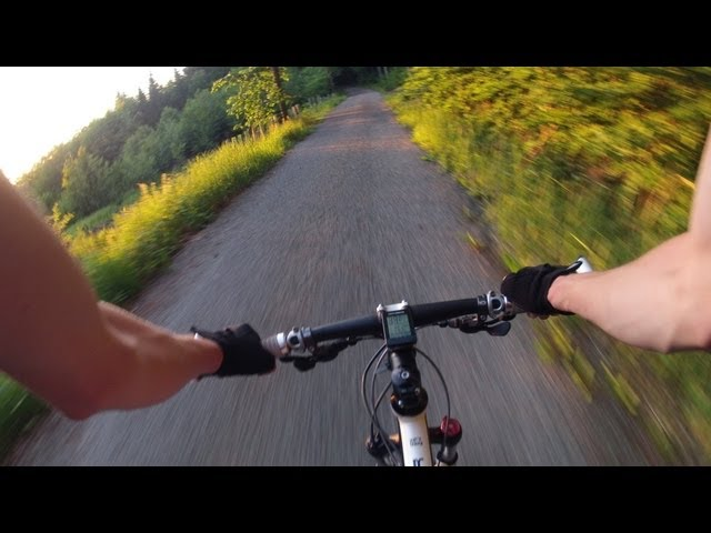 Mountain Bike journeys with GoPro Chest Mount
