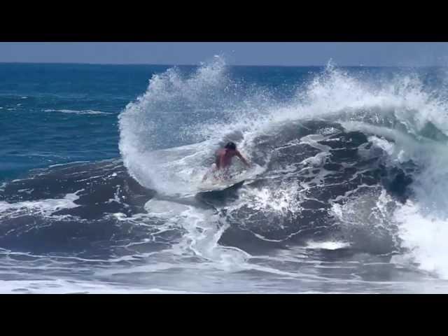 Brad Domke Finless Surfing? Tow-in Skimboarding?