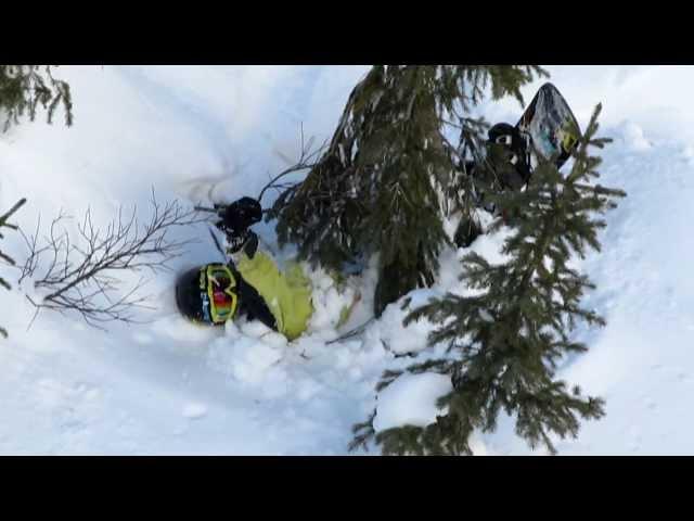 Epic Snowboard and Ski Fails, 2013 compilation