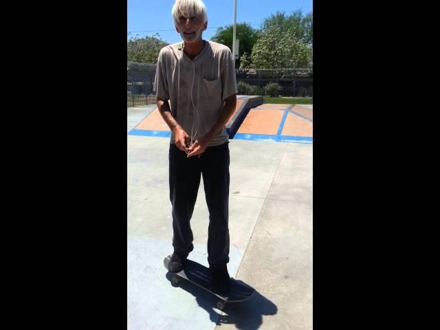 Old Dude Skate Tricks!