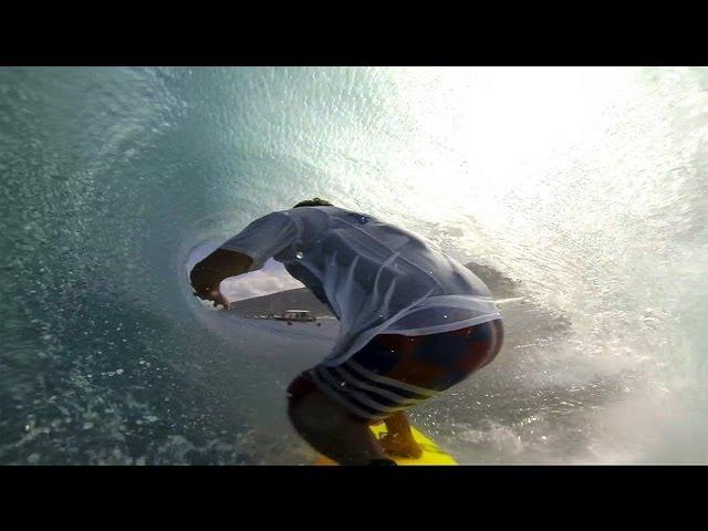 GoPro Hero3: Kalani Chapman Teahupoo tubes
