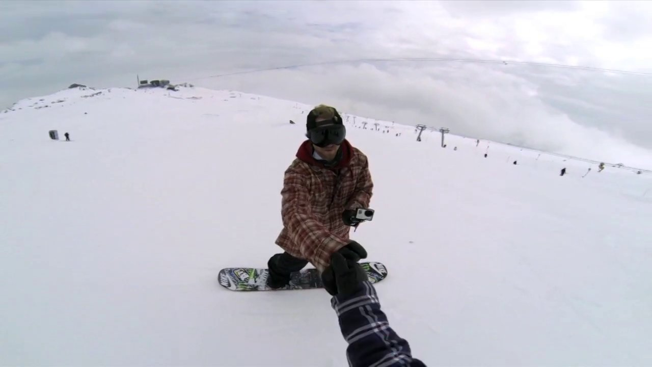 Mid-air GoPro Pass