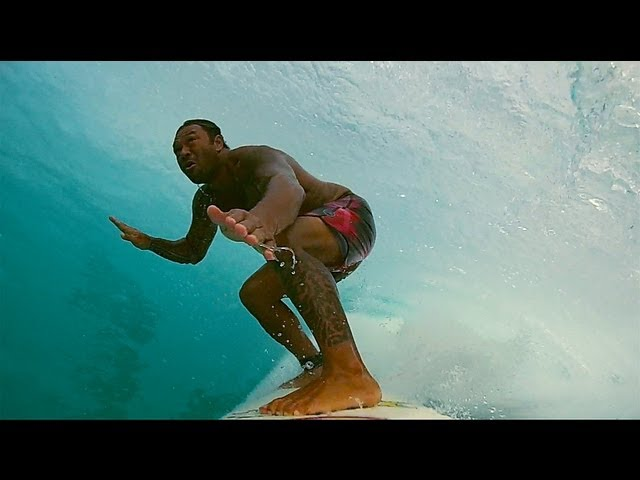 GoPro Hero3: Sunny Garcia South Shore sessions
