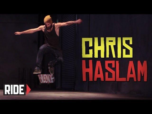 Chris Haslam Switch No Comply Fs 360 Heelflip