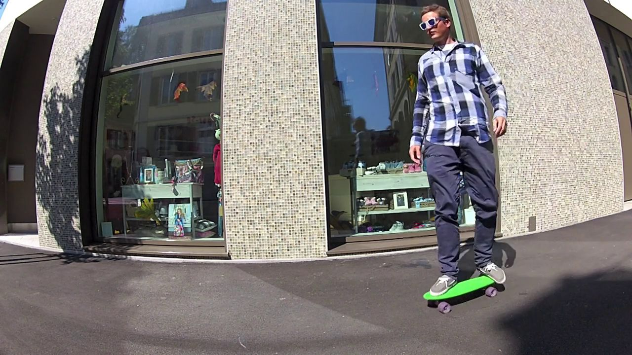 Skateboarding in Lucerne - GoPro HD Hero 2