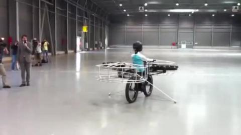 Flying Bike!