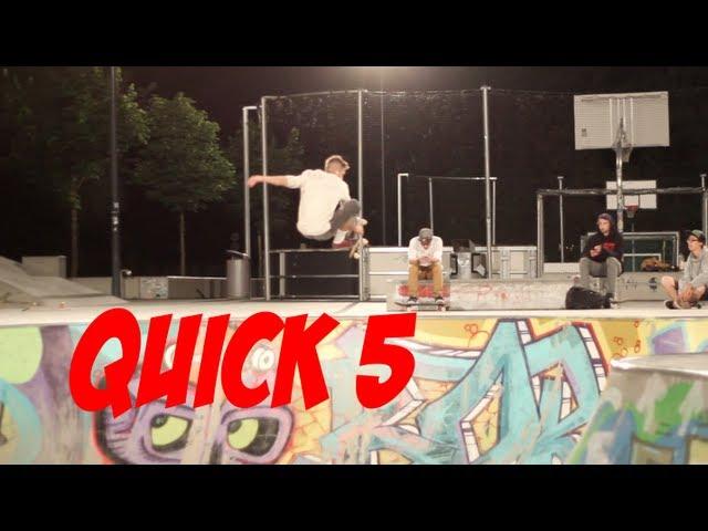 QUICK 5 - Patrick Wider